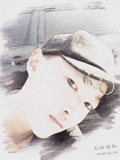 士丹熊新款韩版权志龙同款帽子个性别针破洞棒球帽鸭舌帽子时尚男女潮遮阳 韩版黑色 黑色 晒单图