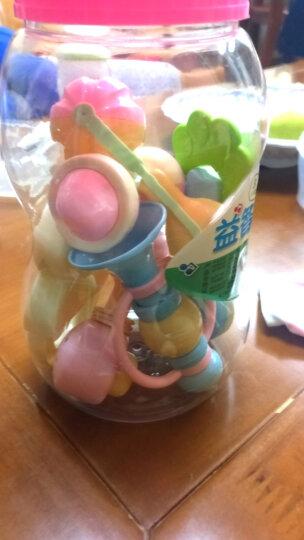 活石 婴儿摇铃 宝宝床铃奶瓶玩具新生儿套装手摇铃0-1岁 奶瓶收纳装8件套 晒单图