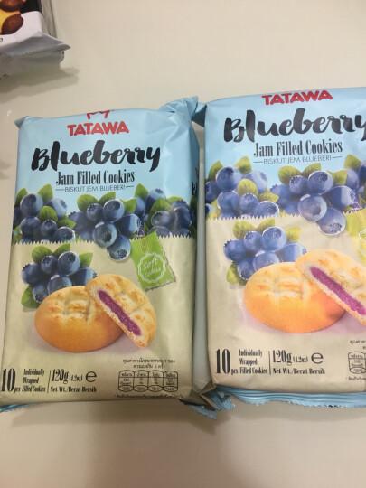 TATAWA塔塔瓦曲奇饼干 马来西亚进口巧克力夹心果酱软馅早餐零食 葡萄干巧克力味曲奇 晒单图