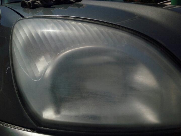 点缤汽车大灯翻新划痕修复套装灯罩变黄刮痕修补液通用大灯修复剂抛光镀膜工具透明增亮剂清漆油漆 130毫升+遮蔽膜 晒单图
