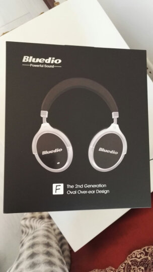 Bluedio/蓝弦 F2代 头戴式蓝牙耳机 主动降噪无线耳麦有源消噪 黑色 晒单图