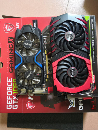 微星(MSI)GeForce GTX 1060 GAMING X 6G 1594-1809MHZ GDDR5 192BIT PCI-E 3.0 旗舰红龙 吃鸡显卡 晒单图