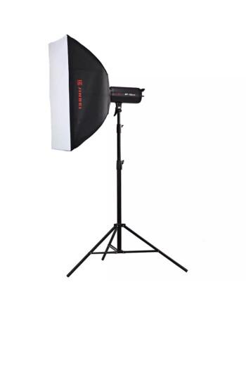金贝EF-60 100 150 200LED专业摄影常亮灯太阳灯直播视频摄像补光灯人像儿童拍摄柔光灯 EF150单灯套装 晒单图