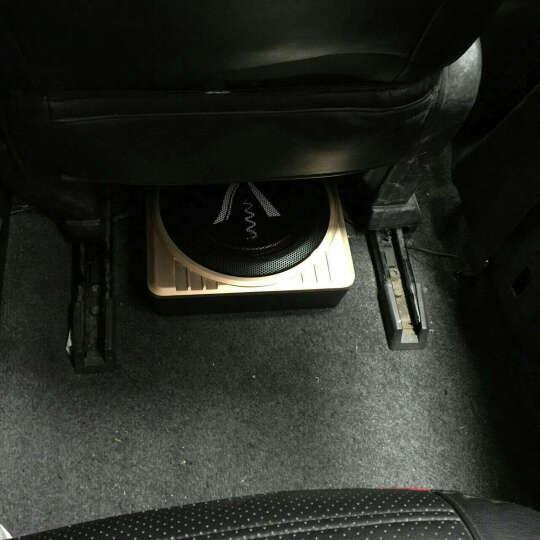 XdIob汽车音响低音炮超薄10英寸车载音箱带功放有源重低音喇叭12V超薄低音炮 10英寸土豪金(单个) 晒单图