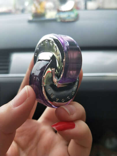宝格丽(bvlgari)【特价】Bvlgari宝格丽男女士小样香水礼盒 花舞轻盈紫水晶女士5ml 晒单图