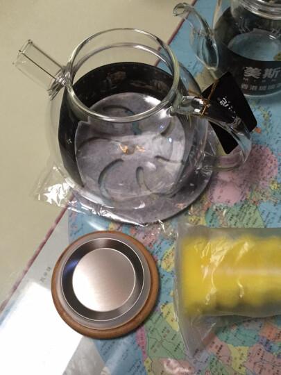 美斯尼 耐热玻璃茶壶花茶壶冷水壶凉水壶杯过滤加厚明火加热煮茶大容量茶具 单壶1600毫升 ( 4-6人 ) 晒单图