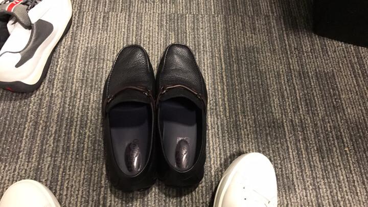 Salvatore Ferragamo 菲拉格慕 男士GRANPRIX系列黑色牛皮Gancio饰扣开车莫卡辛鞋 0642823 7.5/41.5 EEE 晒单图