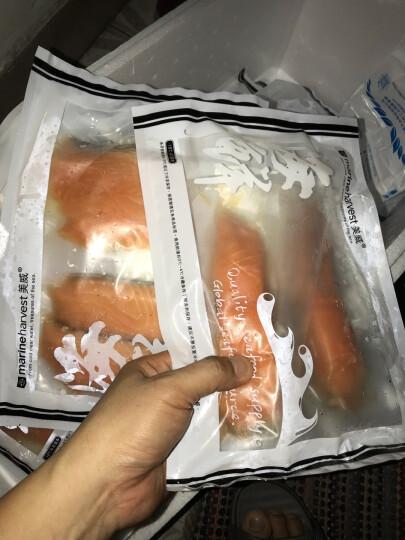 美威 冷冻智利本味三文鱼排 (大西洋鲑)220g 2片 袋装 晒单图