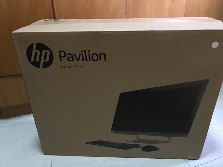 惠普(HP)畅游人Pavilion 27-a258cn 27英寸触屏一体机电脑(i5-7400T 8G 128GSSD+2T 4G独显 三年上门) 晒单图