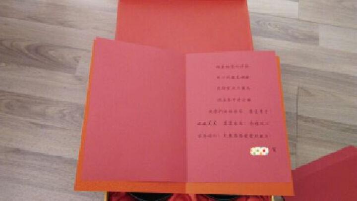 喜庆木质碗筷 结婚礼物实用 新婚创意礼品送朋友婚庆摆件喜庆个性 内木纹喜上眉梢碗金头红檀龙凤棕 晒单图