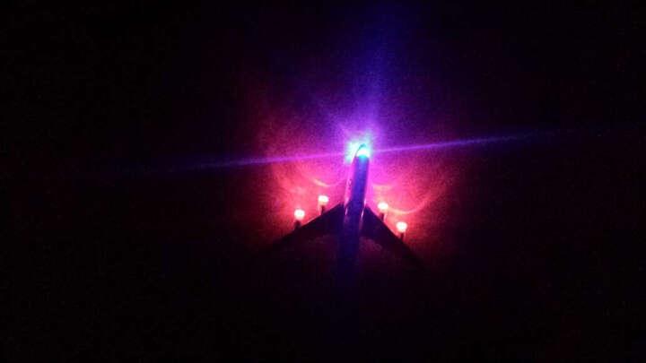 彩珀战斗机航天飞机轰炸机直升机歼十回力声音灯光合金飞机模型儿童玩具 翼龙无人机 晒单图