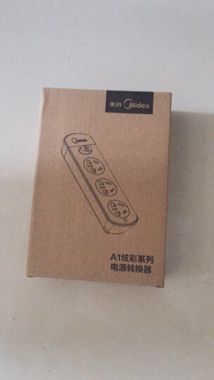 美的(Midea)A1C02L1.2-A5插座插排插线板1.2米两位总控插座 晒单图