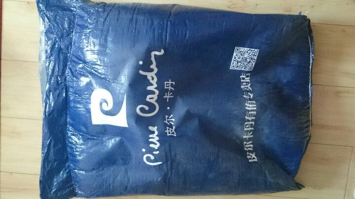 皮尔卡丹 全棉羽绒床褥子 95白鹅毛学生床垫子 羽绒床护垫榻榻米透气床 纯白色 150cm*200cm 晒单图