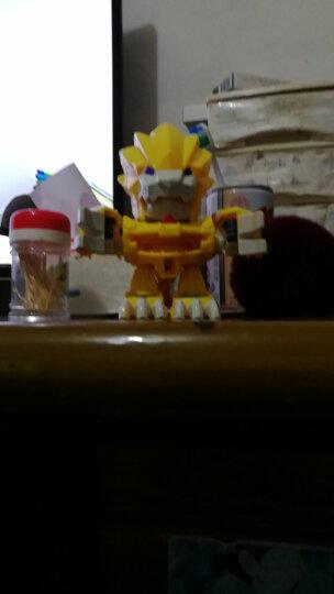 激战奇轮 奇轮战士3玩具爆炫标靶变形武装神枪战神套装烈焰狮王标靶对战儿童玩具 零式战轮补充包 晒单图