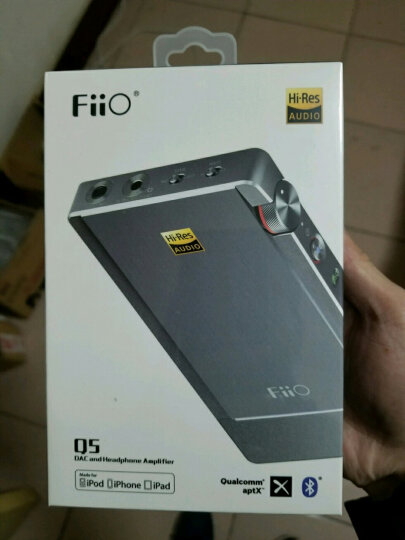 飞傲(FiiO) Q5 便携HiFi苹果DSD硬解码耳放电脑声卡 晒单图