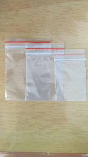 自封袋中等厚度8丝大中小规格自封袋塑封口袋透明杂物收纳袋玩具收纳袋100只价 15*22cm 晒单图