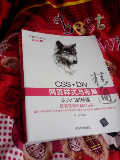 CSS+DIV网页样式与布局从入门到精通 晒单图
