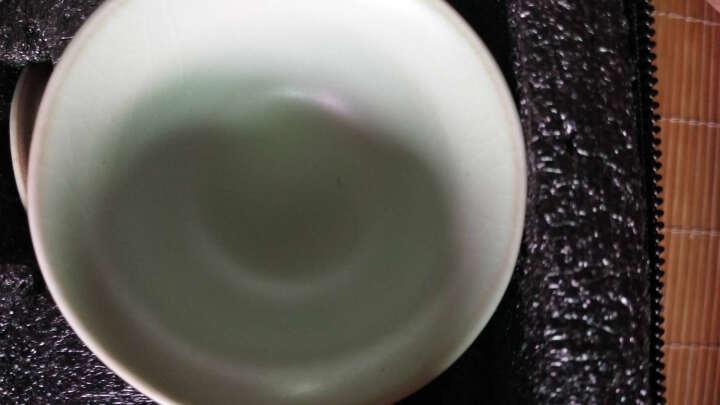 豹霖 整套便携包旅行茶具套装 车载简易功夫茶具一壶四杯日式干泡茶盘陶瓷办公茶器茶壶茶杯 1壶4杯+盘【翡翠禅字】 晒单图