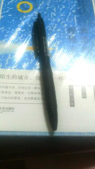 日本进口文具 三菱UNI eye水性圆珠笔 直液式针管走珠中性水笔学生考试办公用品笔 0.5mm 蓝色 1支装 晒单图