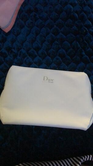 迪奥(Dior) 雪晶灵护肤套装附带化妆包手拿包 经典白色PU皮半圆化妆包 晒单图