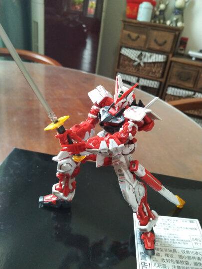 万代(BANDAI)高达Gundam拼插拼装模型玩具 RG版 红异端敢达0200634 晒单图