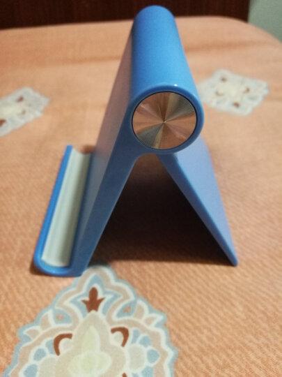 绿联 桌面手机支架 创意可调节多功能懒人直播支架 防滑可折叠便携手机托手机座 ipad手机平板通用 30390蓝色 晒单图
