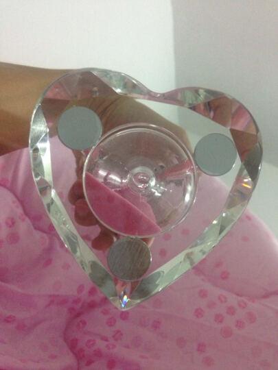 夜光钻石【免费刻字】水晶沙漏 情人节生日礼物女生 创意礼品送女友老婆 蓝色钻石款刻字 晒单图