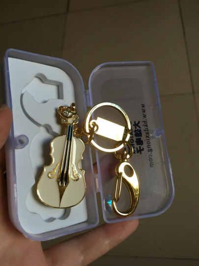 大雄U盘(DaXiong)珐琅U盘 创意小提琴u盘时尚可爱u盘 造型U盘 B9-007 礼品包装 64G 晒单图