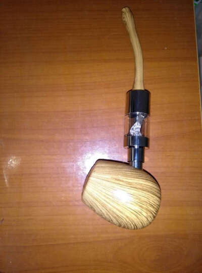 凯明瑞电子烟烟斗套装 蒸汽替烟戒烟器可充电注烟油烟液产品 黑色 晒单图