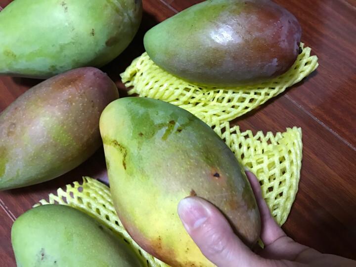 聚果臻品 攀枝花凯特芒果吉禄芒果贵妃芒新鲜中果水果 2.5kg装 晒单图