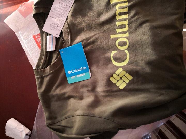 哥伦比亚(COLUMBIA) 【清仓】 哥伦比亚春夏款男款T恤户外透气速干衣短袖PM3707 PM3707 白色100 XXL190/108A(偏小一码) 晒单图
