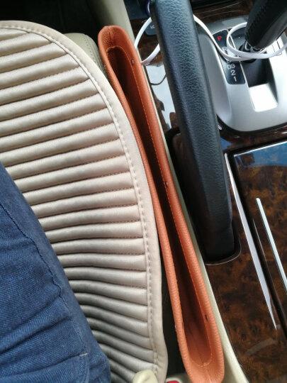 理昂 车载收纳盒 汽车座椅夹缝储物盒 车用手机置物盒收纳箱 棕色款 凯迪拉克XTS SRX 凯雷德 CTS 晒单图