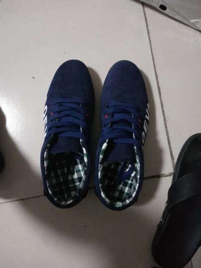 泰潮 男鞋 男士休闲运动鞋 春夏季透气布鞋子男款 大码男鞋 深蓝色 38 晒单图
