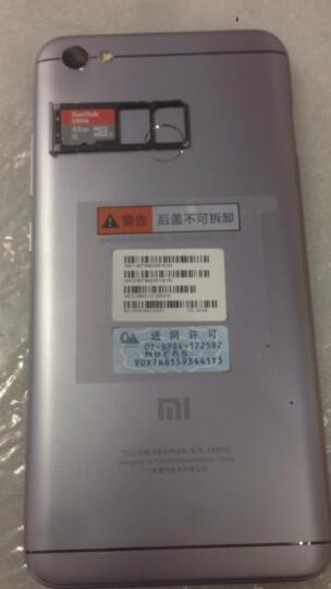 小米 红米Note5A 全网通版 3GB+32GB 铂银灰 移动联通电信4G手机 双卡双待 拍照手机 晒单图