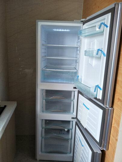 海尔(Haier)冰箱BCD-216SDEGU1 216升三门WIFI冷藏冷冻冰箱电脑智能 银色 三开门 晒单图