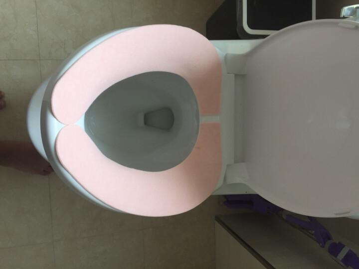 日本丽固(LEC)B-821P 粘贴式马桶坐垫 春秋季加厚款 防臭材质 非一次性 粉色 晒单图