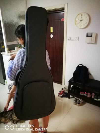 Astraea 艾斯40寸41寸通用民谣木吉他包套琴袋加厚双肩背包个性女生韩版 晒单图
