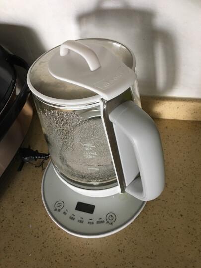 美的(Midea) 养生壶 1.7L高强度水晶玻璃煎药壶 家用智能电水壶GE1705a 晒单图