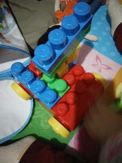 积木美高费雪大积木幼儿80块袋装拼插益智积塑料搭正品的线描画图片