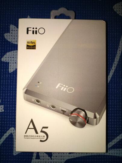 飞傲(Fiio) 飞傲(FiiO)A5 便携HiFi耳机功率放大器通用耳放 钛色 晒单图