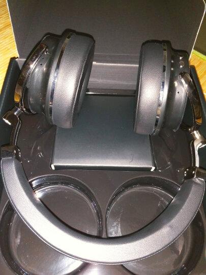 蓝弦(Bluedio) Bluedio/蓝弦 T4S 头戴式蓝牙耳机 主动降噪重低音无线耳机游戏耳麦 红色 晒单图