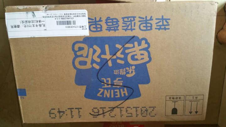 亨氏 (Heinz) 宝宝零食 婴儿果泥 乐维滋果汁泥-苹果香蕉 (1-3岁适用) 120gx24袋 晒单图