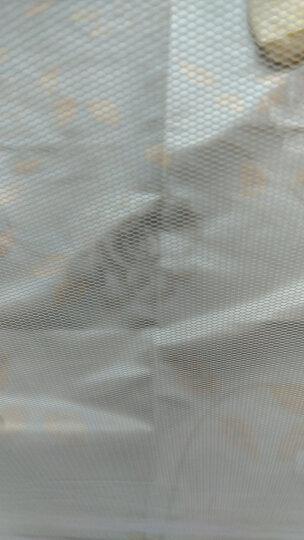 沁鑫家纺 凉席冰丝席三件套 夏凉席子学生单双人1.5/1.8米空调席 婉如夏花-金 180x200cm三件套 晒单图