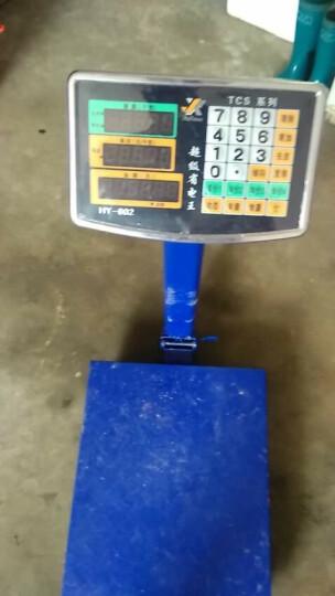 今选称重电子秤商用台秤150KG电子称台称300kg计价秤水果磅秤计数 200kg加厚602红字35*45 晒单图