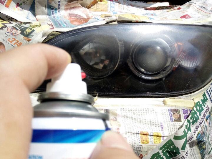 车精灵 汽车大灯修复翻新漆 车灯模糊 氧化 发黄 脱皮修复增亮镀膜液快修工具 175毫升套装(务必要在有阳光的白天施工) 晒单图