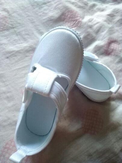 素肌棉 儿童帆布鞋女童板鞋学生白色舞蹈鞋女孩儿童布鞋儿童小白鞋青少年学校童鞋 1888 34(鞋垫长约21.5cm) 晒单图