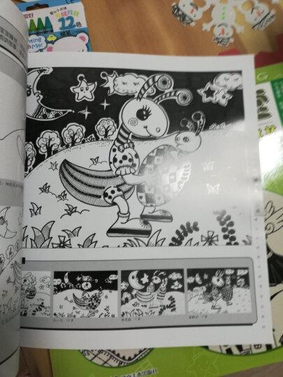 线描画课堂4册  线描画课堂 动物篇人物篇景物篇创意篇 青少年宫美术教学专业专业教材 晒单图