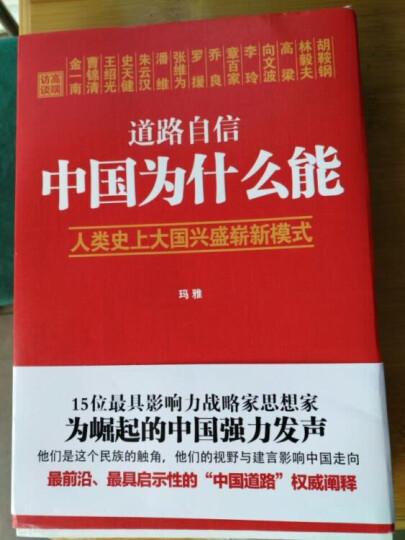 道路自信:中国为什么能 入选2014中国好书 晒单图
