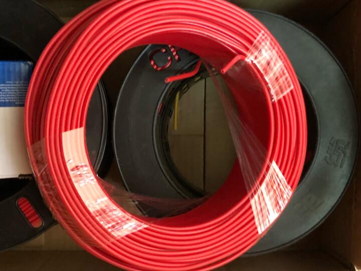 正泰(CHNT) 电线电缆 1.5平方 黄色 100米单股铜照明电源线 晒单图