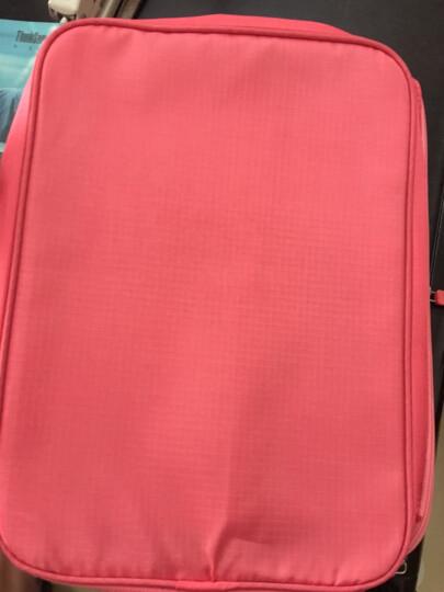 加加林  旅行鞋子收纳袋整理包鞋袋 收纳包大容量旅游便携鞋包 洗漱包 西瓜红 晒单图